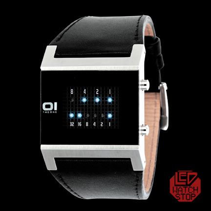 The one kerala trance ladies white binary watch