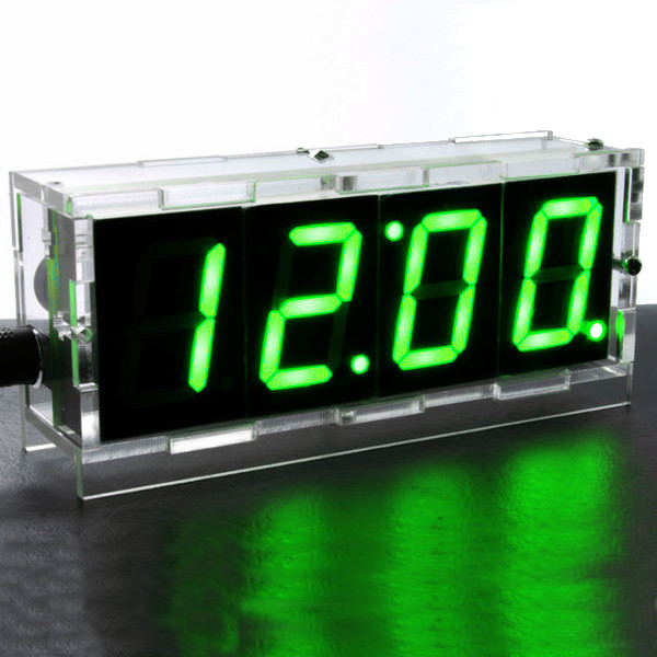 Skmei watches cool unique ledwatchstop do it yourself digital led clock kit w protective case solutioingenieria Choice Image